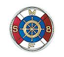 Saltsjön – Mälarens Båtförbund (SMBF) logga