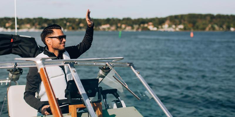 väl förberedd med Sjöassistans från svenska sjö