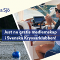 Våra försäkringstagare erbjuds gratis prova-på medlemskap i Svenska Kryssarklubben!